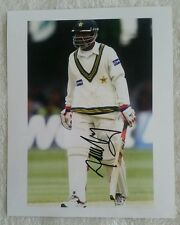 """MOHAMMAD YOUSUF CRICKET SIGNED IN PERSON 8 x 10"""" PHOTO COA BUY AUTHENTIC"""