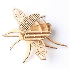 DIY 3D Beetle Wooden Puzzle Insect Assembling Educational Toy Kids Xmas Gift