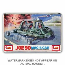 RETRO KIT BOX ART (not DINKY): JOE 90   MAC'S FLYING CAR - Jumbo Fridge  Magnet