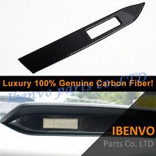 Carbon Fiber Front-passenger Dashboard Nameplate Trim For Ford Mustang 2015-17