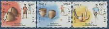 LAOS N°1510/1512** Sports traditionnels, 2003, Set MNH