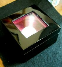 LIGHTED WOOD COIN DISPLAY BOX  LED *VERY HIGH QUALITY*