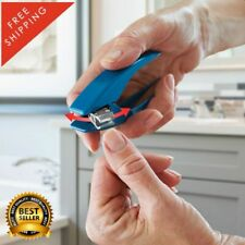 The Better Nail Clippers Ergonomic Shape Blades Rotates 180° Stainless Steel