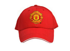 CASQUETTE rouge MANCHESTER UNITED foot LICENSE OFFICIELLE Taille reglable velcro