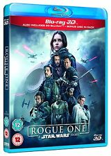 Rogue One (A Star Wars Story) 3D Blu-Ray 3D + 2D NEW Free Ship