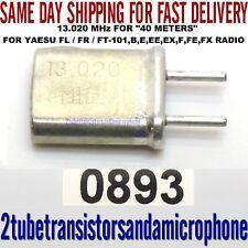 13.020 MHZ YAESU CRYSTAL 40 METER 7.000 TO 7.500 FT-101 B E EE EX F FE FX RADIO