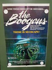 "1981 THE BOOGENS One Sheet Poster 27""x41"" Rebecca Balding, Fred McCarren HORROR"