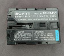 Genuine Sony NP-F960 Battery HVR Z5E Z7E V1E Z1E HD1000E HXR-NX5E PXWZ100 FS100