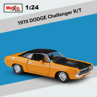 Maisto 1:24 Scale 1970 Dodge Challenger R/T Close Top Modified Car Diecast Model