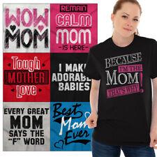 Mothers Day Tee Shirt Graphic Grandma T-Shirt For Womens Gift TShirts For Ladies