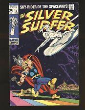 Silver Surfer # 4 - Surfer vs. Thor low distribution VG/Fine Cond.