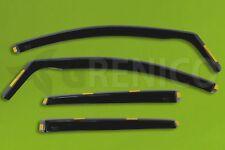 Saute vent Ford ECOSPORT II 5-porte 2013-aujourd/'hui 2-tlg HEKO Foncé Déflecteurs