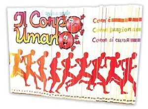 ESPLORANDO IL CORPO UMANO (1-45) - De Agostini 1989