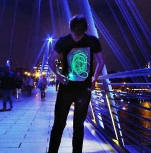 Illuminated Apparel Interactive Glow In The Dark T-shirt - As seen on TV