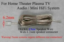 1 50ft speaker cable/wire made for 6.2mm Sony Samsung Lg Philips Ht/Plasma Tv