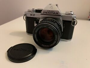 Asahi Pentax K2 With Pentax 50mm 1.4 Lens