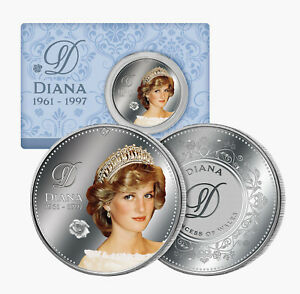 Princess Diana Commemorative Coin 60 Years Since Birth of the Princess of Wales