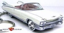 RARE!! KEY CHAIN 59/60 1959/1960 WHITE CADILLAC ELDORADO CONVERTIBLE LTD EDITION