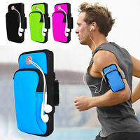 Arm Band Phone Holder Iphone Sport Running Jogging Gym Bag Case Pouch Cell Phone