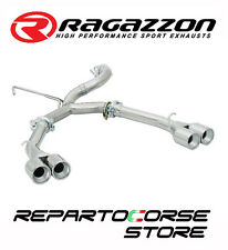 RAGAZZON SCARICO SDOPPIATO 2x70 ALFA GTV 916 SPIDER 2.0 V6 TURBO 148kW 201CV 95
