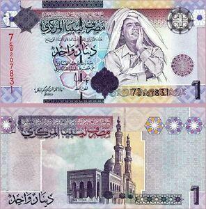 Libya 1 Dinar 2009, UNC, P-71