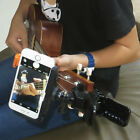 Guitar Headstock Cell Phone Clamp Clip Mount for Smartphones and Gopro Cameras