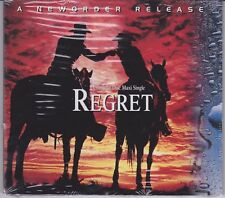 New Order - Regret - Scarce USA 4 track remix CD single SEALED