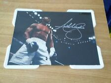 Anthony Joshua A4 260gsm Framed Boxing Photo Picture