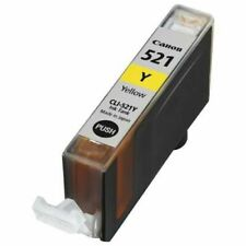 1x Genuine Canon CLI-521 Yellow Ink Cartridge For iP4700,MP630,MP980,MX860