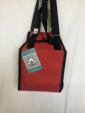 Cutebone Portable Dog Lift Support Harness in Red Size M - for Dogs 22-55 Lbs