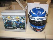Mark Winterbottom / Steve Richards dual signed 1/2 scale Bathurst Helmet + COA