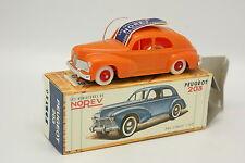 Norev 1/43 - Peugeot 203 Orange Réédition