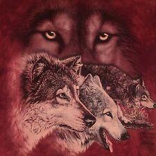 New listing mountain Hidden Wolves t shirt-Gardner art-Wild Spirit Wolf Sanctuary-New-(S)