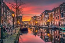 Amsterdam Holland Canvas Wall Art Picture Print ~ VARIOUS SIZES
