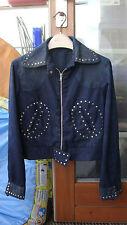 vintage studded jacket. SLP original same. 1960s/1970s? designer inspiration XS