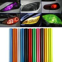 30 x 60cm Tinting Film Fog Tail Lights Headlights Tint Car Van Wrap NEW