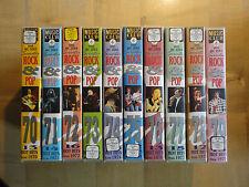 Seventies - Rock & Pop - Hot Hits from 1970-1979 - Musik - 10 VHS komplett - rar