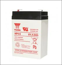 Batterie Etanche , YUASA NP4-6 6V 4AH  Longueur :70 Largeur :47 Hauteur: 106 mm