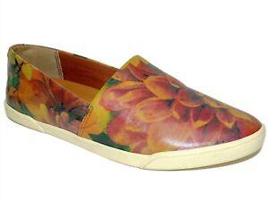 Patricia Nash Women's Lola Slip-On Shoe Multi Print Leather Size 8 M
