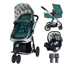 New Cosatto giggle 2 pram and pushchair in Fox Friends with car seat & raincover