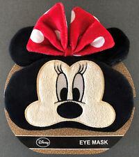 Disney Minnie Mouse Maus Schlafbrille Schlafmaske Augenmaske Ohren Schleife rot