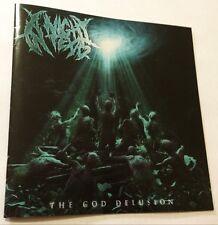 A NIGHT IN TEXAS The God Delusion CD 2015 skull & bones SAB051 oz Deathcore