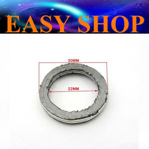 30mm Exhaust Muffler Ring Gasket Seal GY6 49cc 50cc 125cc 150cc Moped Scooter