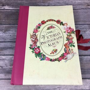 The Victorian Photograph Album Illustrated Board Book Cutout Frames 35 Photos