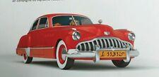 Car Tintin Buick Roadmaster  1/24 Land of Black Gold  New in box