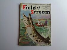 Field & Stream Magazine Vintage March 1932 Fishing Game Ducks Cover Lynn Hunt
