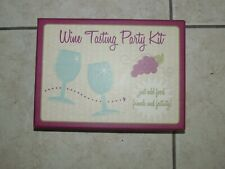 WINE TASTING PARTY KIT WINE WARS TRIVIA GAME LOT OF 2