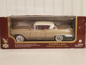 Road Legends 1958 Cadillac Eldorado Seville 1:18 Scale Diecast Model Car