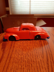 """Vintage Plastic 1950's 1960's Play Way by Tri Play Come Apart Toy Car 7.25"""""""