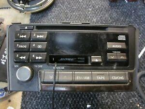 00-04 INFINITI I30 MAXIMA BOSE CD PLAYER RADIO RECEIVER